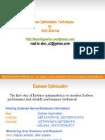 Essbase Optimization