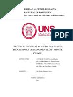 Proyecto Factibilidad Casma-peru