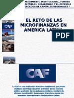 Reto de Microfinanzas en America Latina
