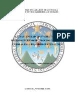 Proceso Ordinario Laboral Guatemalteco - Tesis