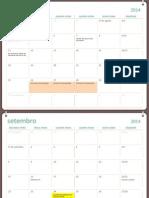 Calendário 2014_2