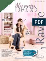 "Catalogue ""Mes envies Déco"""