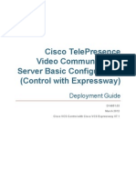 Cisco VCS Basic Configuration Cisco VCS Control With Cisco VCS Expressway Deployment Guide X7-1