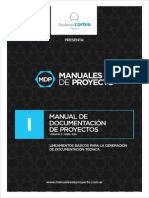 MDP Manual I Documentacion de Proyectos V2 20140423