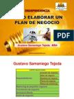 Como Elaborar Un Plan de Negocio