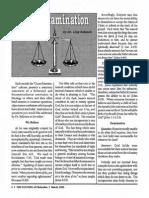 1992 Issue 3 - Cross-Examination