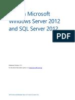 SAP on Windows Server 2012 and SQL Server 2012 White Paper Final