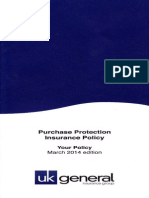 Purchase Protection Insurance 2014-Mar