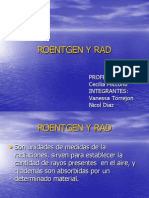 Roentgen y Rad