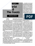 1992 Issue 4 - Christ and the Feasts