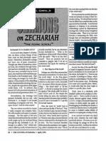 1992 Issue 4 - Sermons on Zechariah