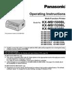 Kx Mb1500bl English