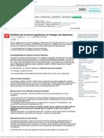 2011-07-07 HIPOTECAS Análisis de La Nueva Regulación en Impago de Hipotecas