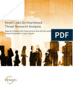 Venafi Labs Q3 Heartbleed Threat Research Analysis
