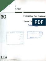 Coller Xavier_investigar a Través Del Caso