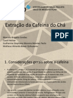 Extracao Da Cafeina 2012