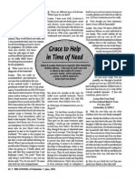 1992 Issue 6 - Grace to Help in Time of Need - Counsel of Chalcedon