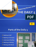establishing daily 5 introducing to students