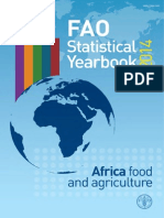 FAO Statistical Yearbook 2014 Africa Food and Agriculture