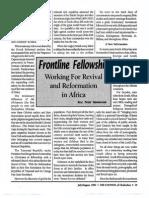 1992 Issue 7 - Frontline Fellowship