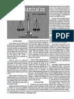 1992 Issue 7 - Cross-Examination