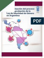 Sistematización Del Proceso de La Ley de Identidad de Género en Argentina Final