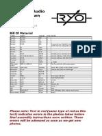 RYO Optodist Assembly Manual