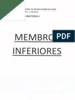 Apostila de Anatomia I - Membros Inferiores.pdf