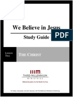We Believe In Jesus - Lesson 2 - Study Guide