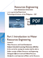 CE 003 Water Resources Engineering