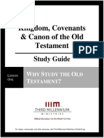 Kingdom, Covenants and Canon of the Old Testament - Lesson 1 - Study Guide