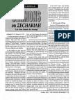 1992 Issue 9 - Sermons on Zechariah