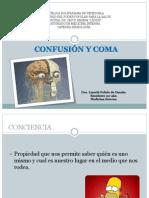 Confusion y Coma Seminario 270514