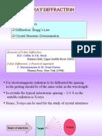X RayDiffraction