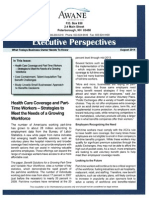Executive Perspective Newsletter - AUGUST 2014