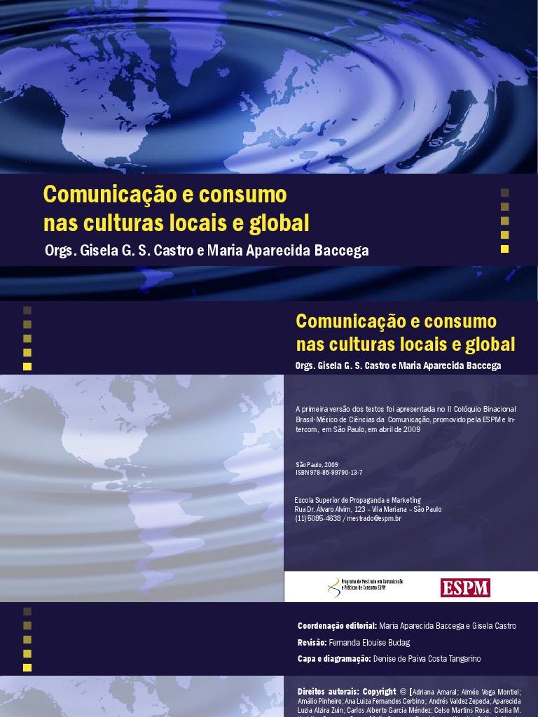 Comnicacao e Consumo Nas Culturas Locais e Global - eBook 9081b263938fd