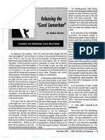 "1992 Issue 10 - Releasing the ""Good Samaritan:"" Counsel on Improving Race Relations - Counsel of Chalcedon"