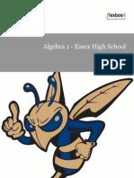 Algebra 1 EHS 2014-2015