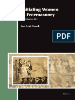 (Aries Book Series 13) Jan a. M. Snoek-Initiating Women in Freemasonry-Brill Academic Pub (2012)
