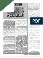 1992 Issue 11 - Sermons on Zechariah