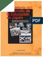 Historia Del Desarrollo de La Educación en Japón Reference_ESP