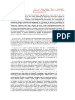 Ética y Universidad. Carlos de La Isla