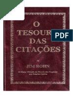 Jim Rohn - O Tesouro Das Citações