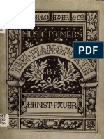 The Art of Pianoforte Playing (by Ernst Pauer) (1877)