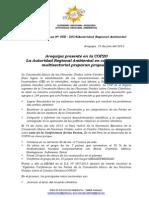 Boletin de Prensa 009 - 2014- Cop 20 y Cc