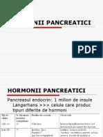 HORMONII PANCREATICI