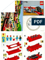 LEGO 7715 building instructions