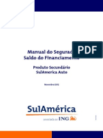 Manual Saldo Financiamento