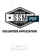 SSM Corona Volunteer Application