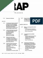 Revista de Administracao Publica v.36 n.4 2002